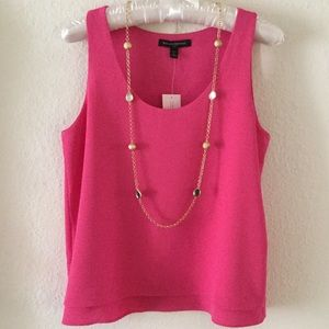 Banana Republic Sleeveless Fuchsia Top - NWT